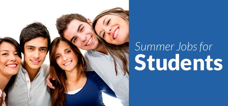 Summer Jobs for Students